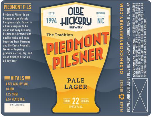 Piedmont Pilsner