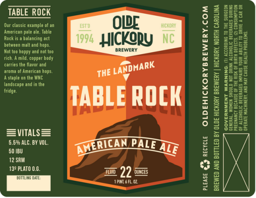 Table Rock Pale Ale